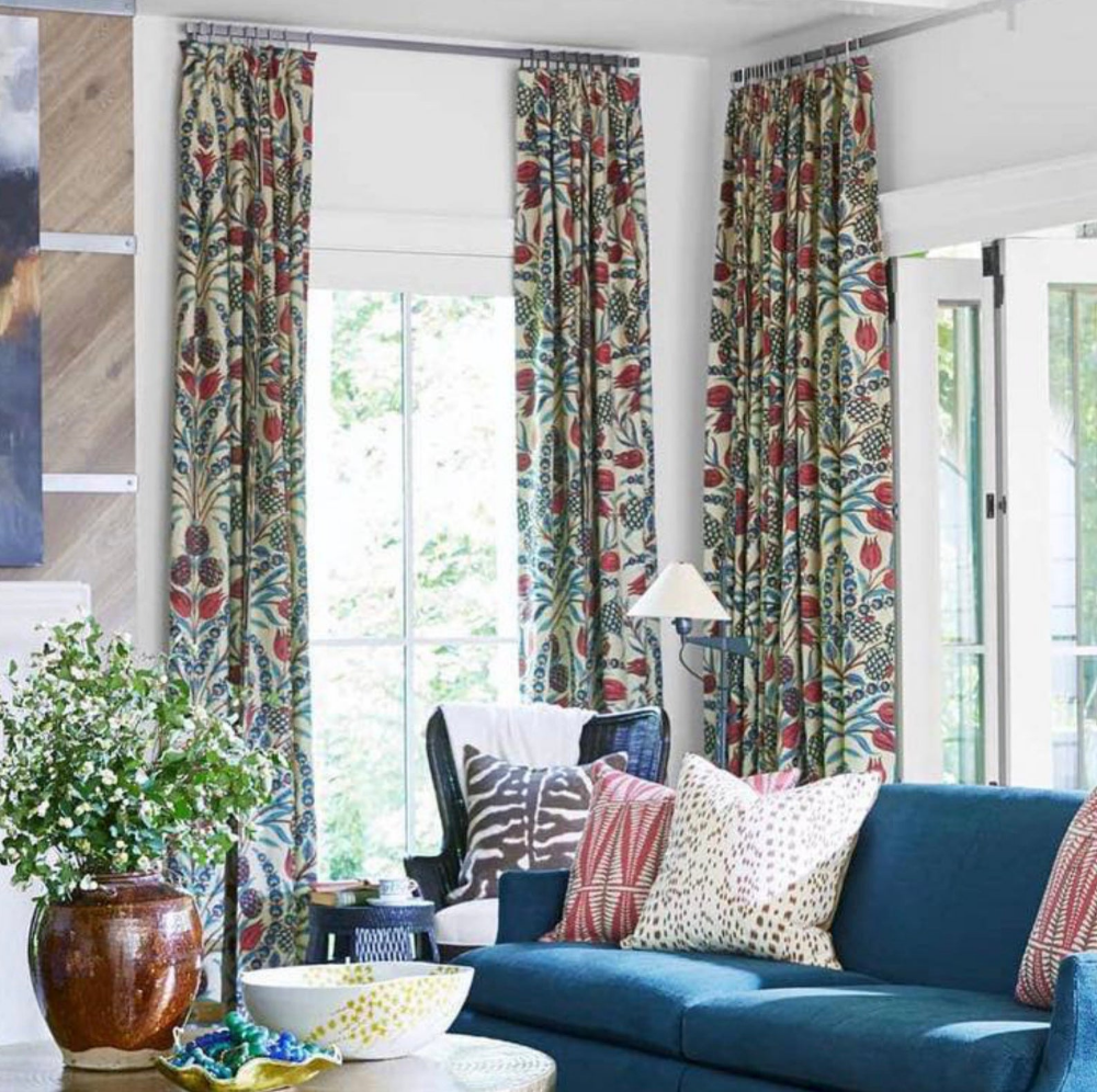Pin On Richmond House #neutral #curtains #living #room