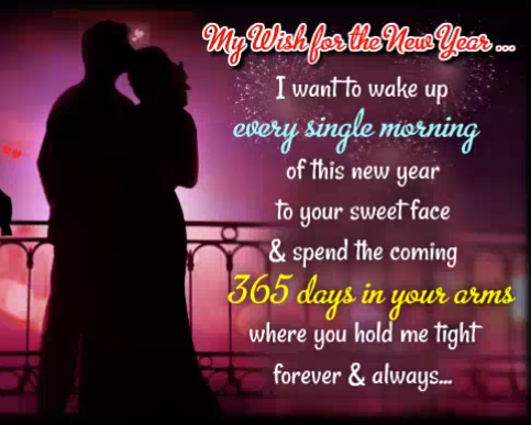 Romantic New Year Wishes For Boyfriend Him | Happy new year love quotes,  Happy new year quotes, New year love quotes