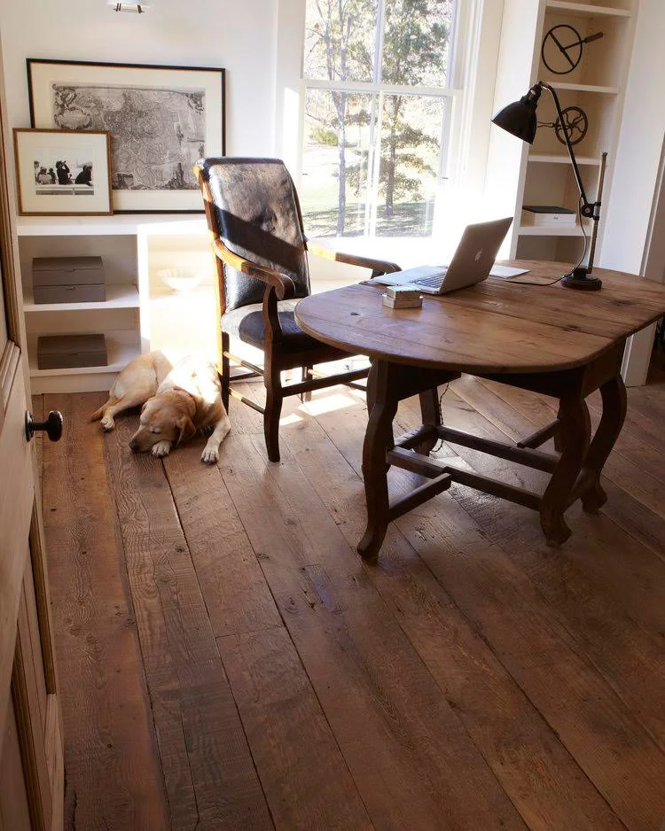 Want Reclaimed Wood Flooring Without the Price Tag? Buy