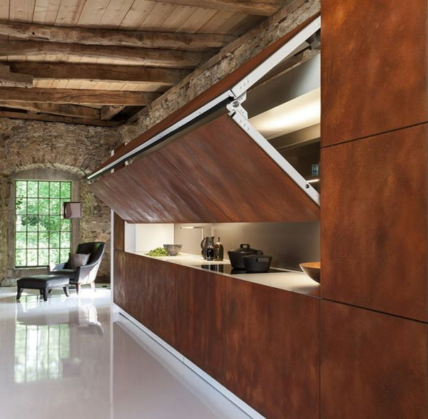 Hidden Kitchen Design Coffee Break  The Italian Way Of Design An Hidden Kitchen
