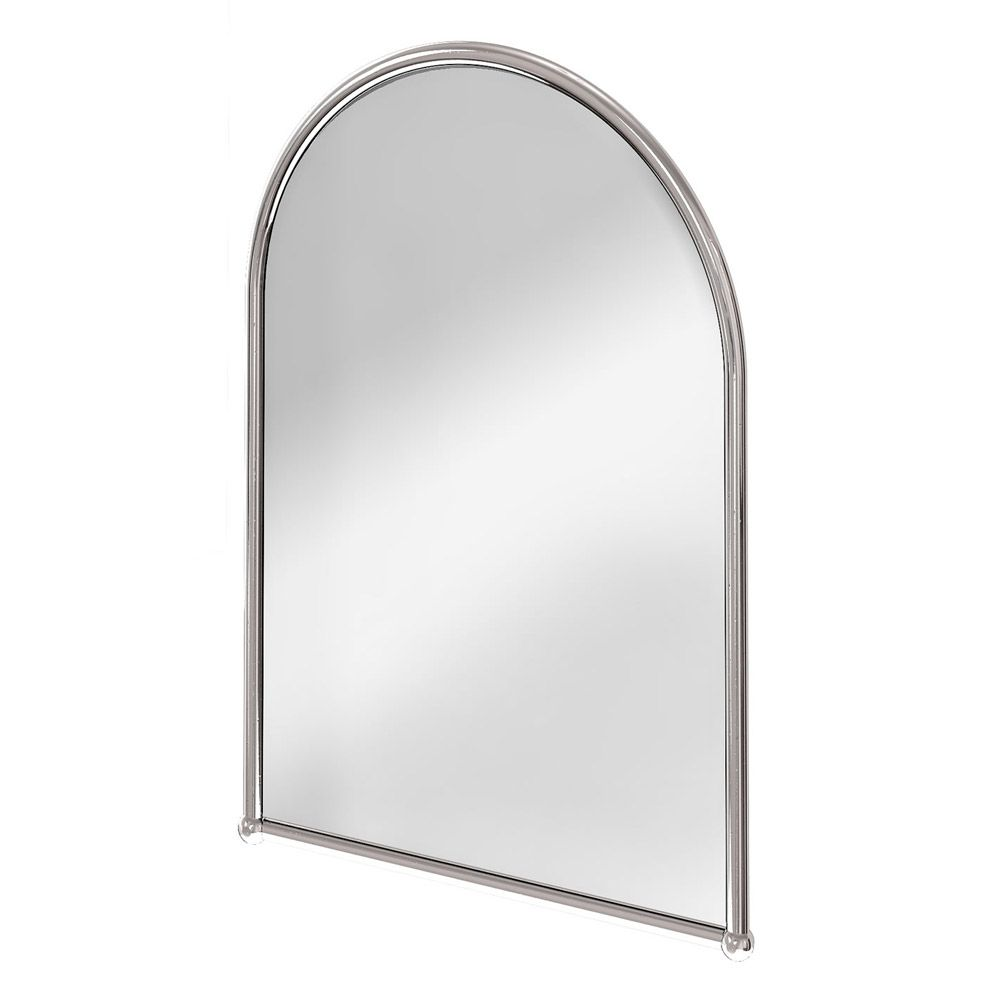Burlington Arched Mirror With Chrome