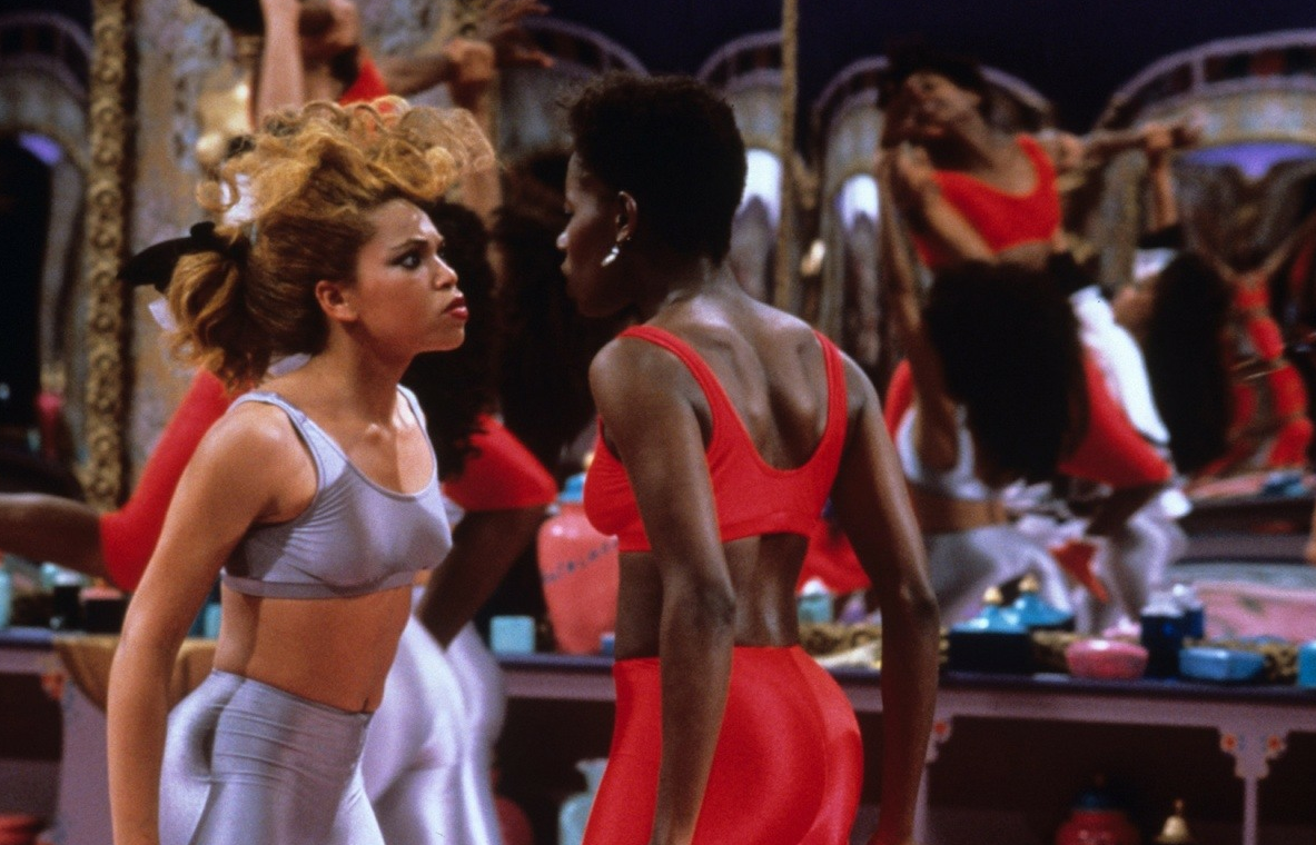 """A Spike Lee classic, """"School Daze"""". This is a snapshot from the"""