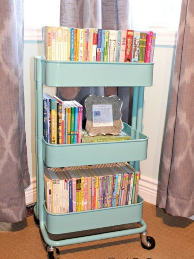 Superieur 10 Clever Ways To Store And Display Your Childu0027s Books Ikea Storage  Solutions, Ikea Storage