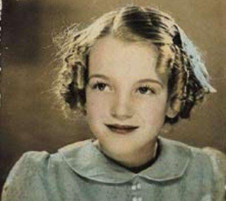 Resultado de imagen para MArilyn cuando era niña