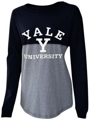 sports shoes 7af5c 2321f Womens Sideline Jersey & more Yale Apparel | Education in ...