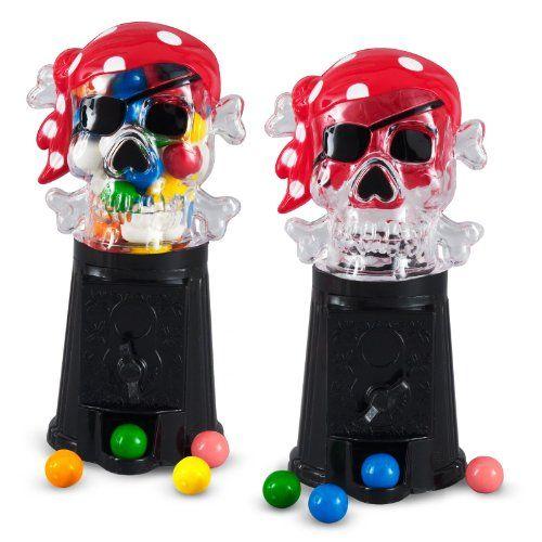 Pirate Bubble Gumball Machine (1 count) Rhode Island Novelty http://www.amazon.com/dp/B003XCJB2K/ref=cm_sw_r_pi_dp_oWldub1W522YY