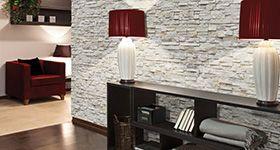 Plaquetas decorativas para interiores decorar con piedra - Plaqueta decorativa exterior ...