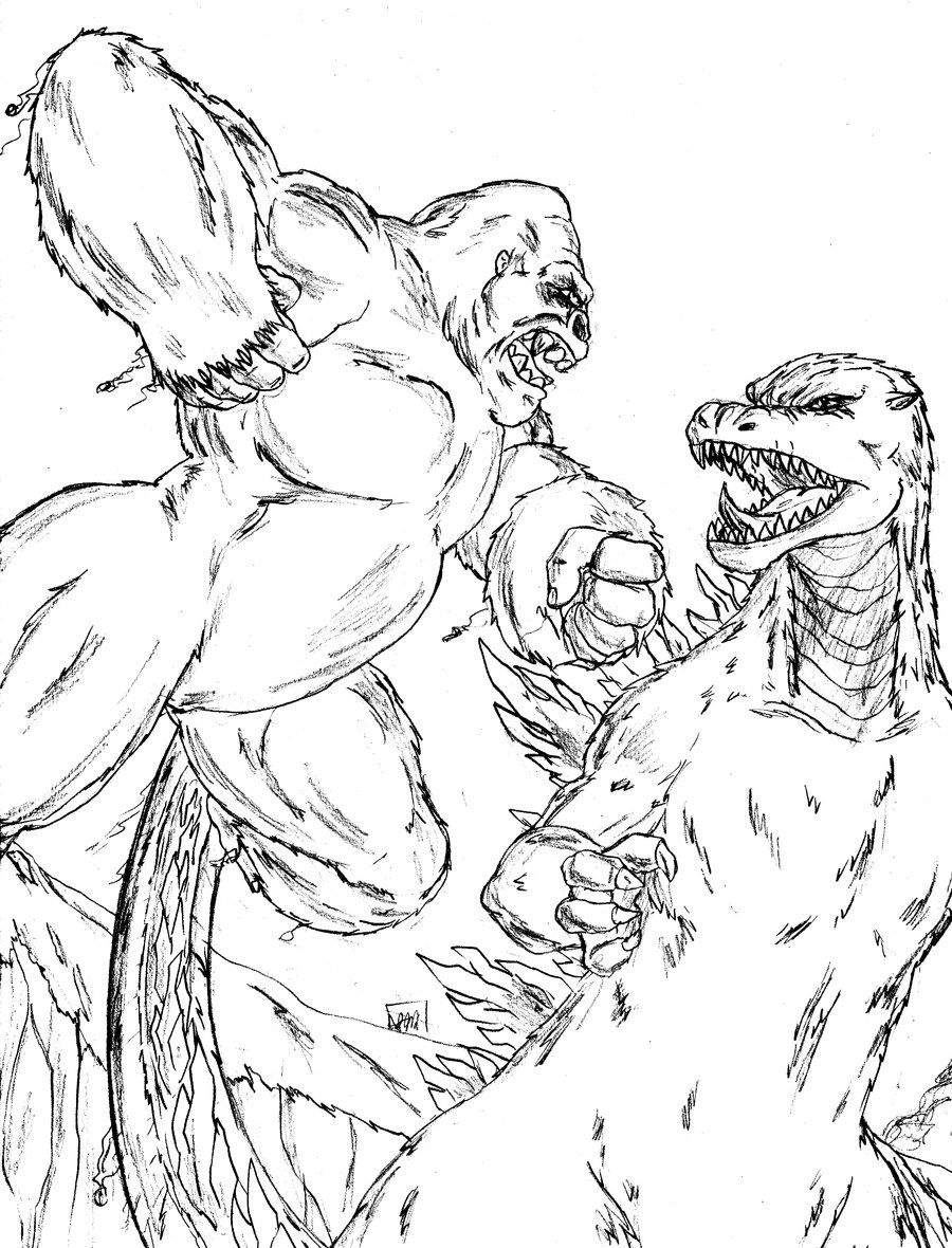 King Kong vs Godzilla by Amrock.deviantart.com on @deviantART ...