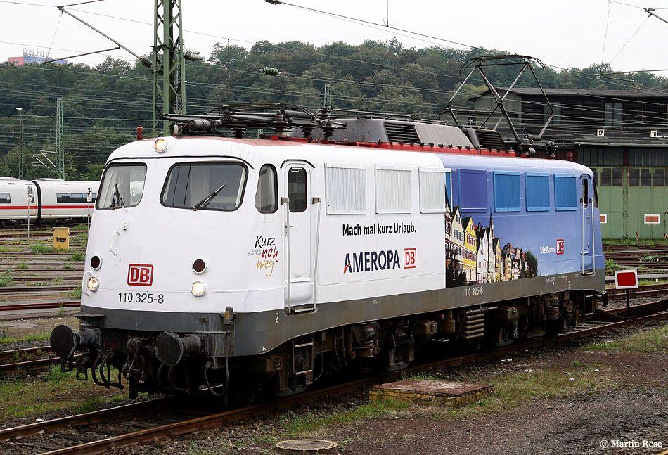 Br 110 Ameropa Eisenbahn Lokomotive Verkehrsmittel