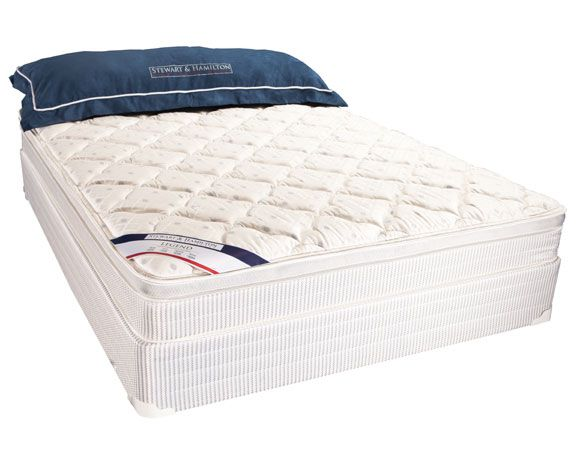 Comfort And Support With Pillow Top Legend Pillow Top King