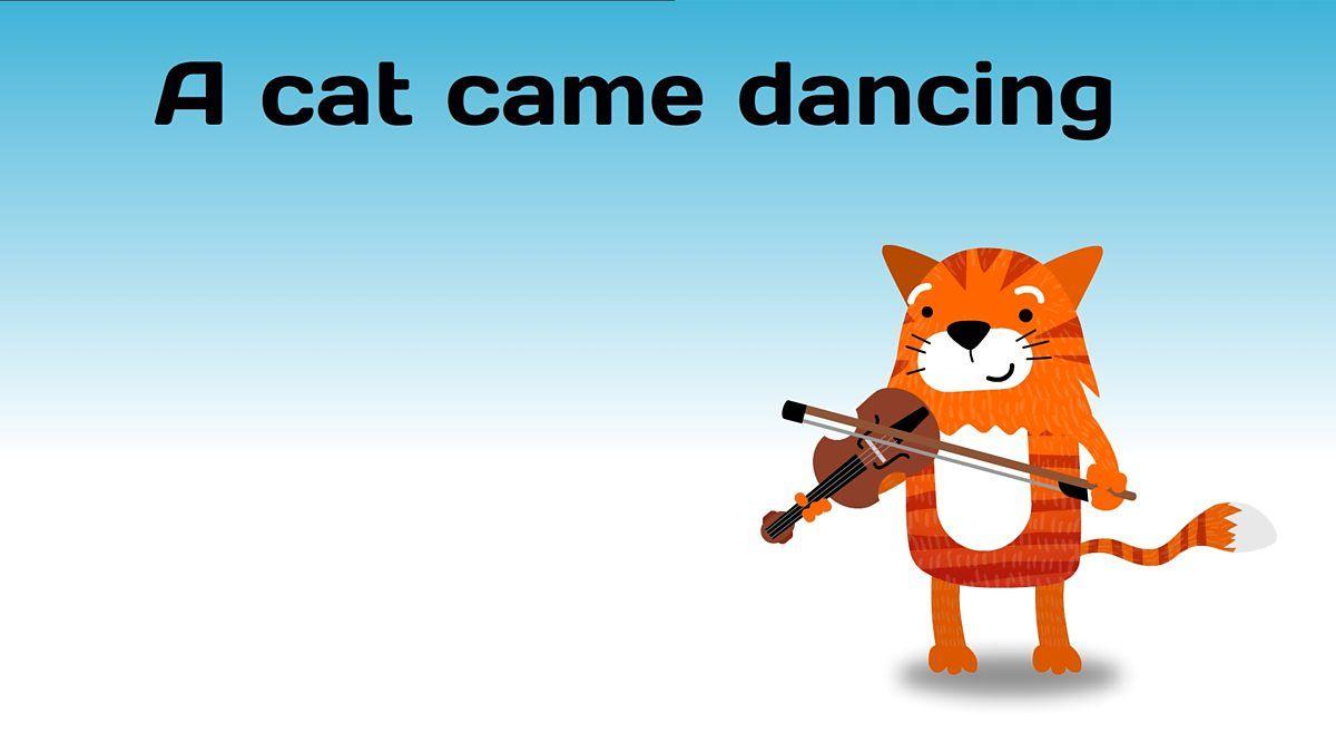 A Cat Came Dancing Nursery Rhyme Lyrics Nursery Rhymes Lyrics Dance Nursery Nursery Rhymes