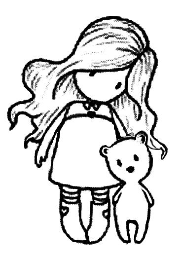 dibujos de gorjuss para colorear  little gorjuss ...