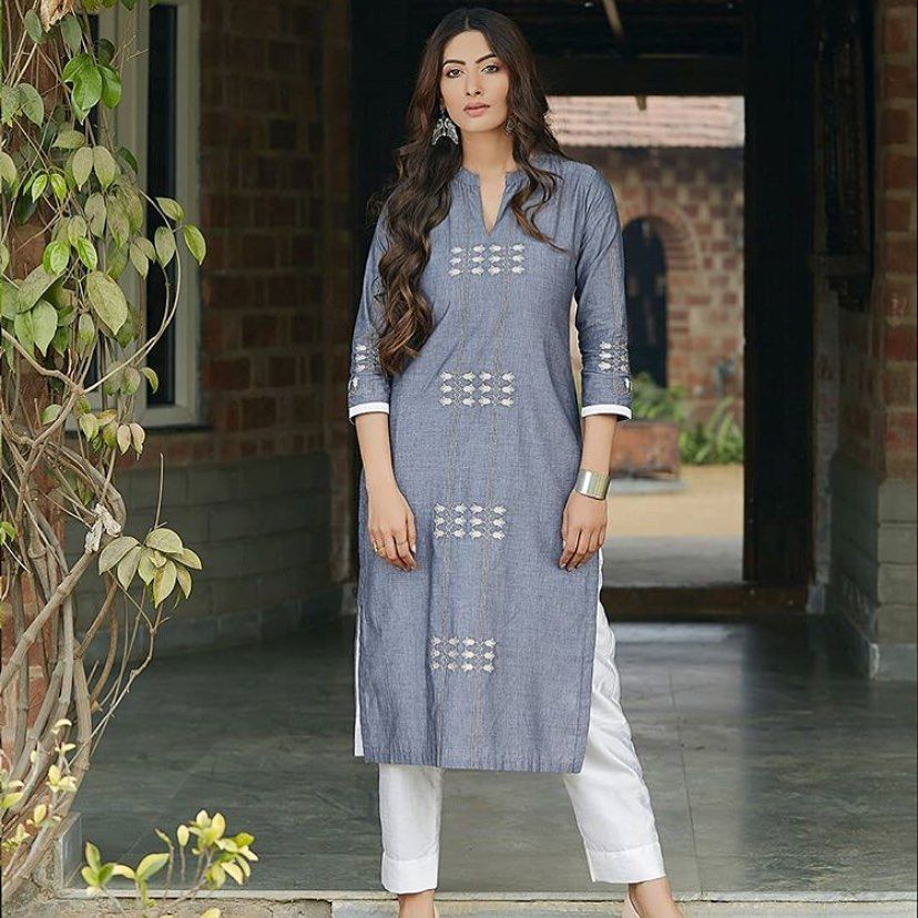 """Fashioto on Instagram: """"Dm for any queries..!! #clothingbrand #kurtis #cotton #trending #wholesaleclothing #wholesale #quality #fancy #classy #pret #couture…"""""""