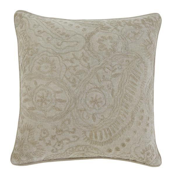Stitched Natural Pillow 4pc Set