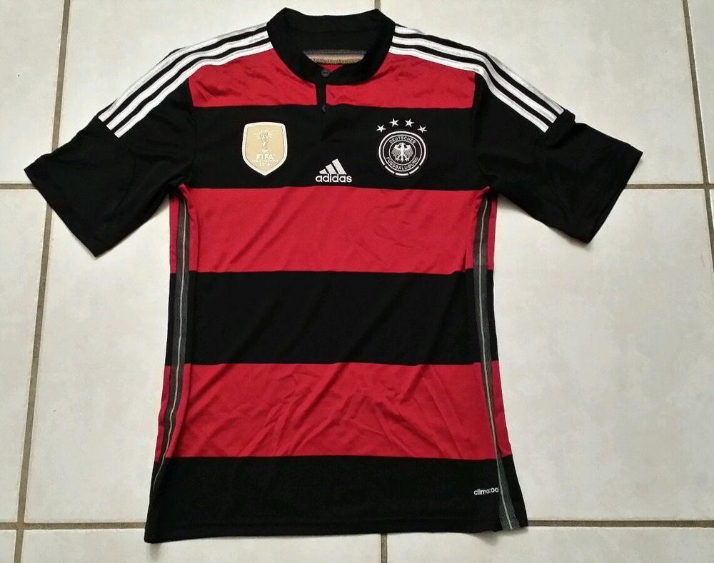 00376b5b017 ADIDAS Germany National Team 2014 FIFA CHAMPIONS Away Jersey Men s Medium