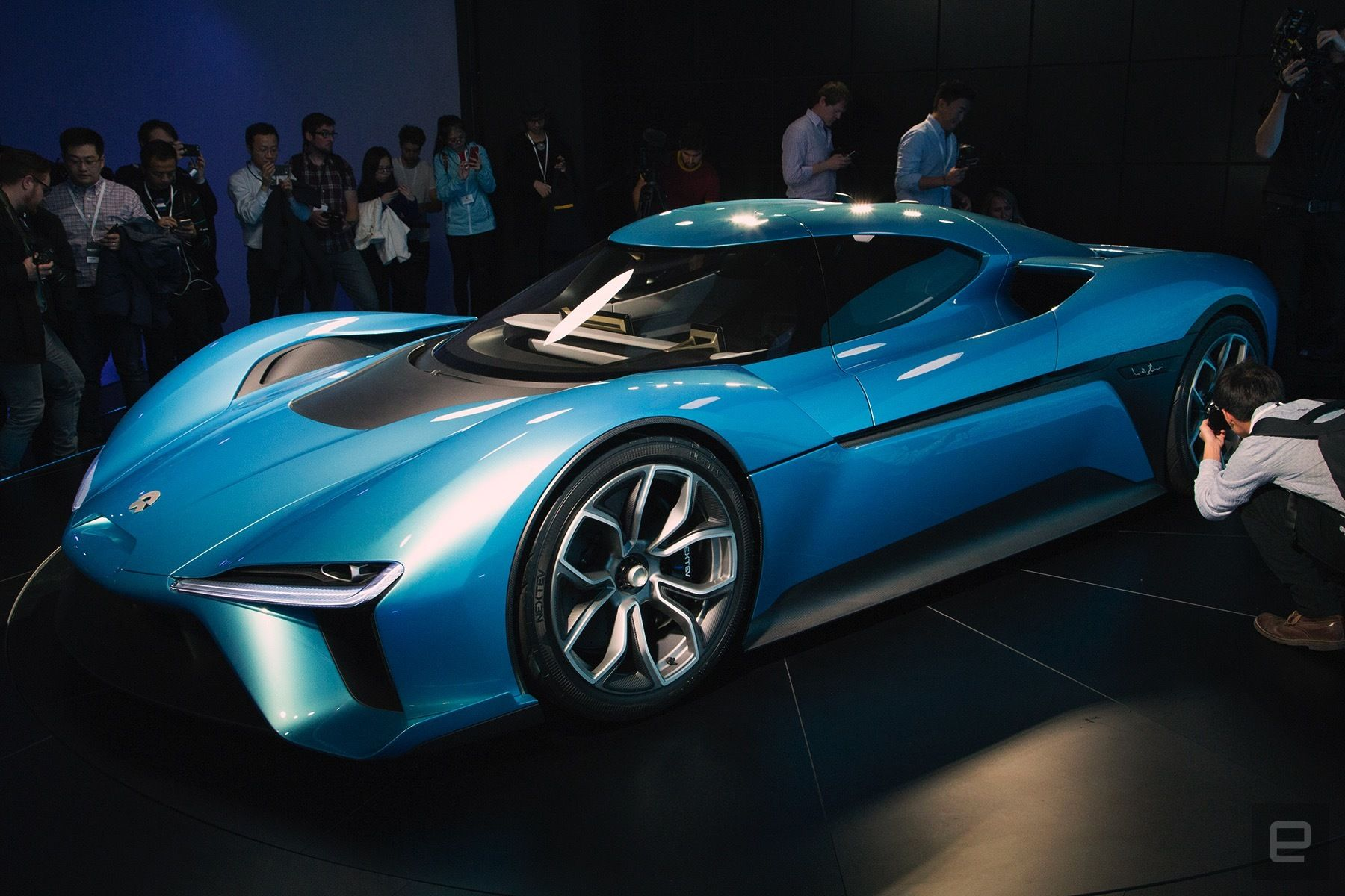 The NIO EP9 is the 'world's fastest' allelectric supercar