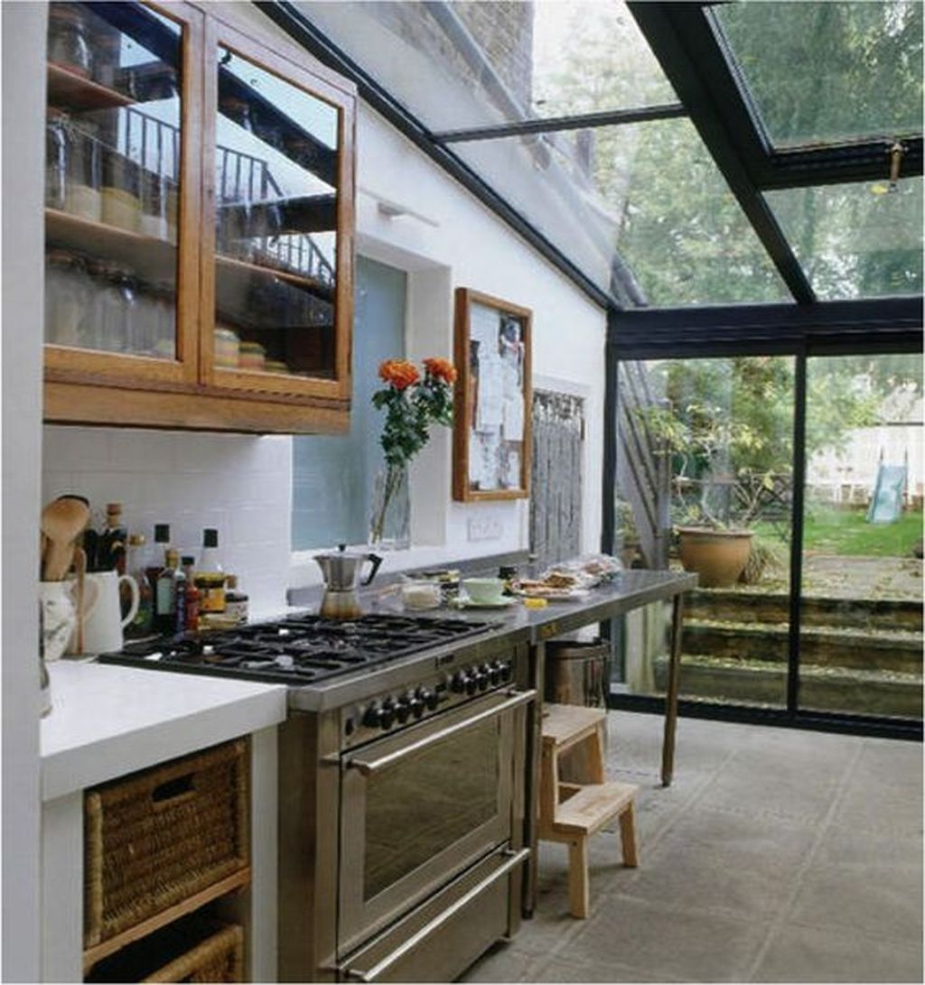 25 Captivating Ideas For Kitchens With Skylights: 25+ Creative Conservatory Kitchen Ideas