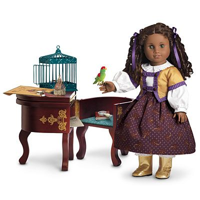 American Girl® Furniture: Cecile's Parlor Outfit, Desk & Parrot Set
