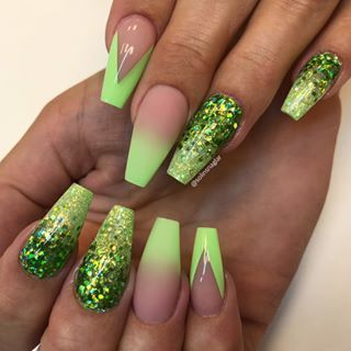 31 trendy summer long ombre coffin nails ideas in 2020