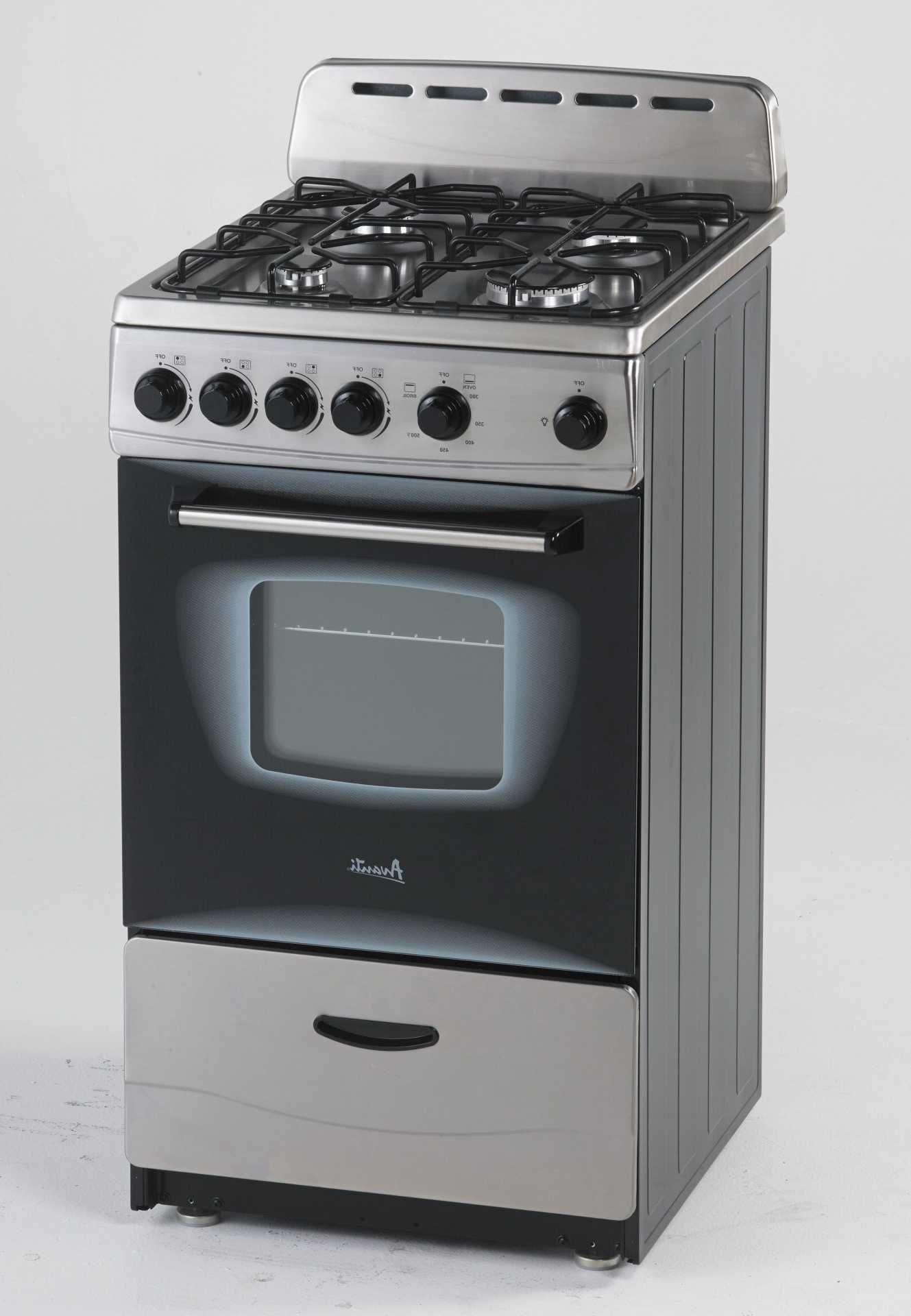 Avanti Gr20x 20 Inch Freestanding Gas Range With 4 Sealed Burners