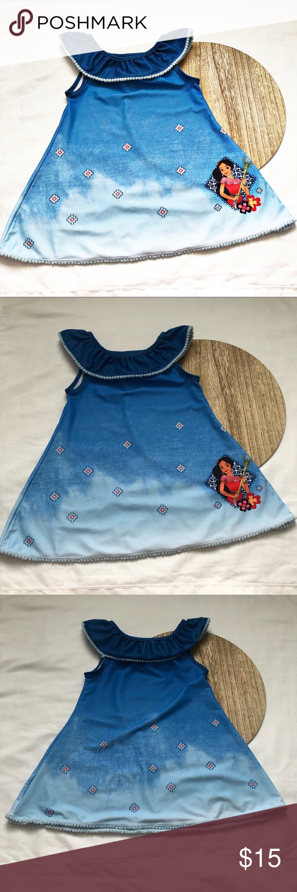 a41673fb69f2a NWOT Girls 2T Elena of Avalor Swim Coverup NWOT Girls 2T cover up. Only  tried