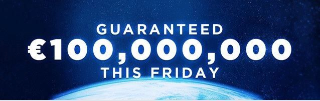There's been an unprecedented amount of excitement this week with the long awaited €100,000,000 EuroMillions SuperDraw hitting our planet this Friday!     It has been described by some as the BIGGEST event of the year... Many take the day off in anticipation... everyone understands the significance! A worldwide phenomenon is hitting the planet this Friday and it could be YOUR chance to make history!