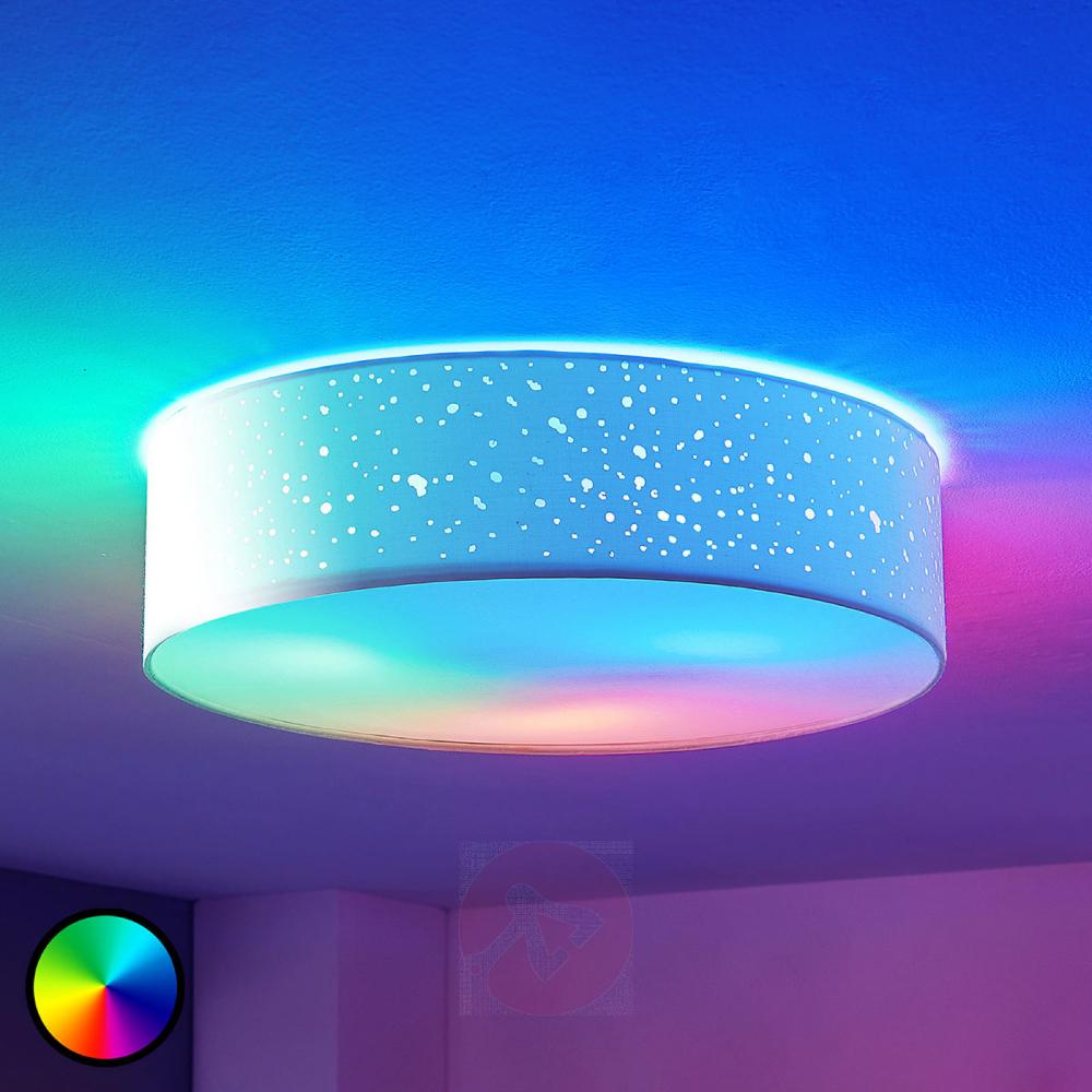 Lindby Smart Led Deckenlampe Alwine Decke Direkt Lampenwelt At In 2020 Led Deckenlampen Deckenlampe Led Deckenleuchte