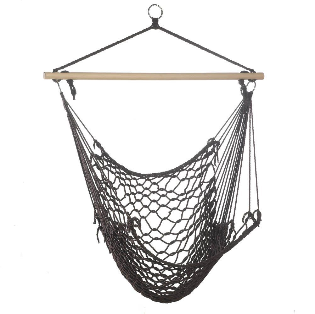 Espresso Hammock Chair Home Goods Galore Interior