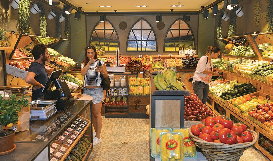 Fruit vegetables shop vegetable shop vegetables
