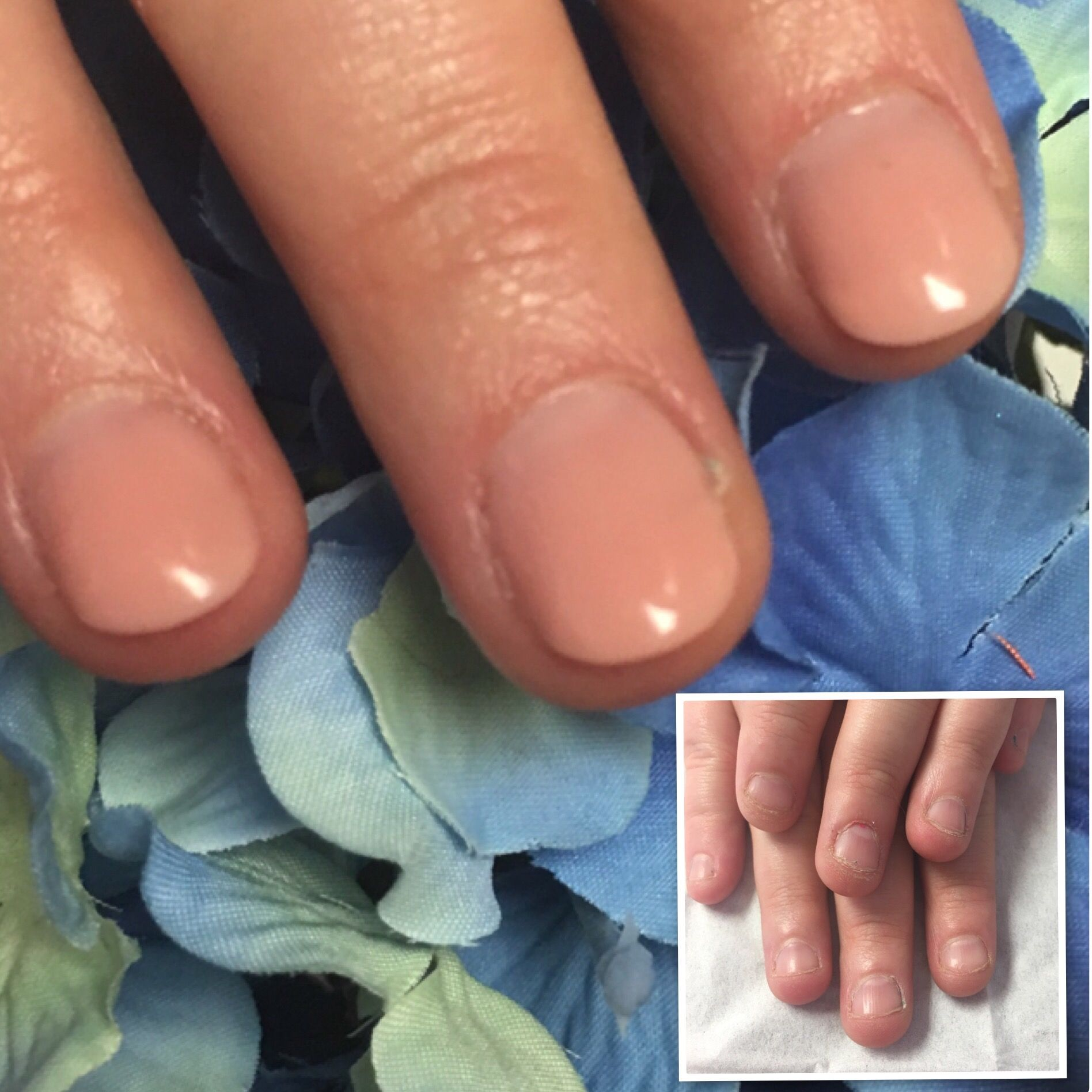Light Flexible And Durable These Polygel Sculpted Extensions Are Perfect For Nail Biters Why Not Give It A Go Yours Gel Nail Extensions Neutral Nails Nails