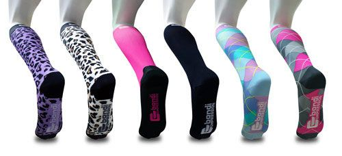 how to take off compression socks