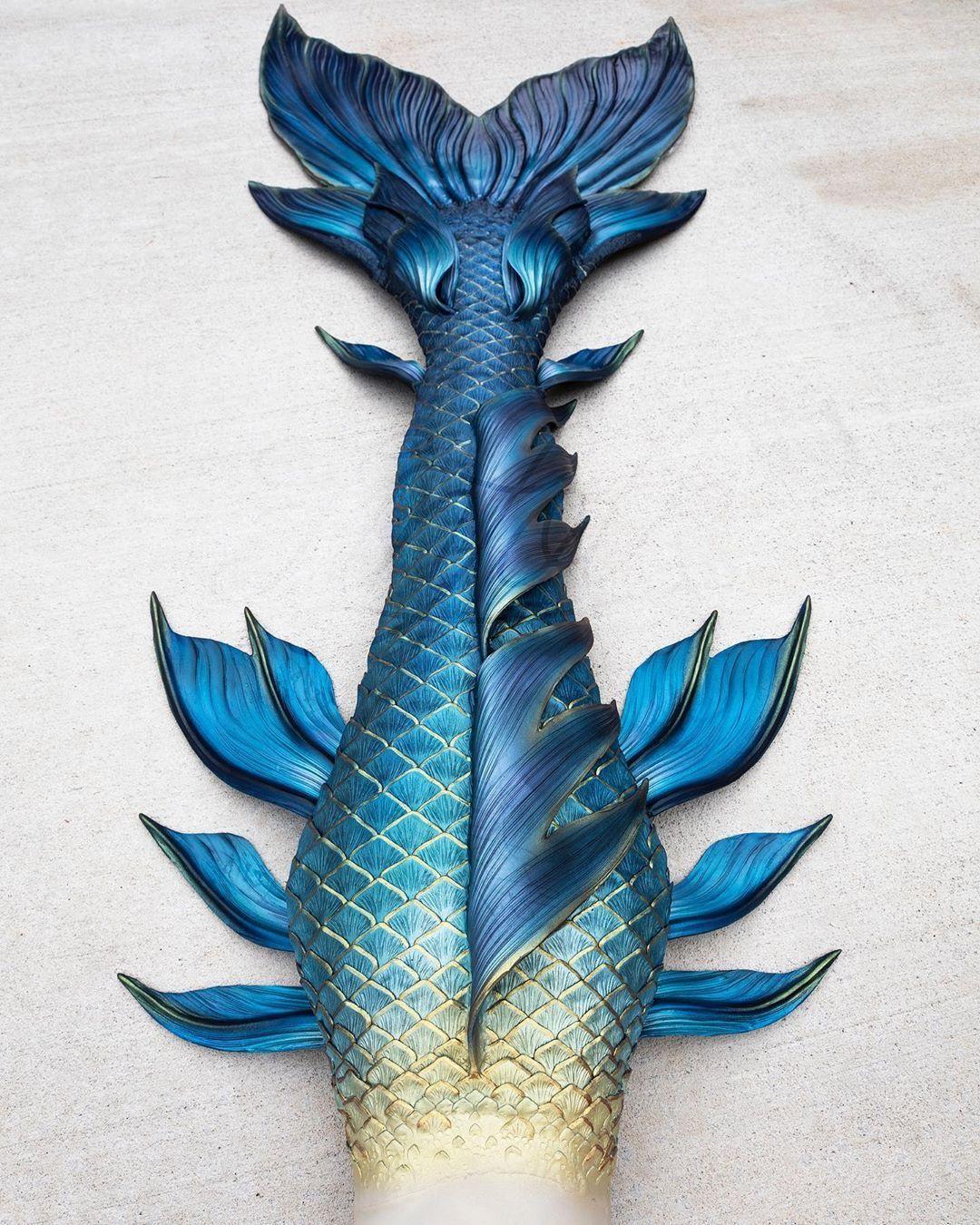 Ravenclaw Mermaid Tail