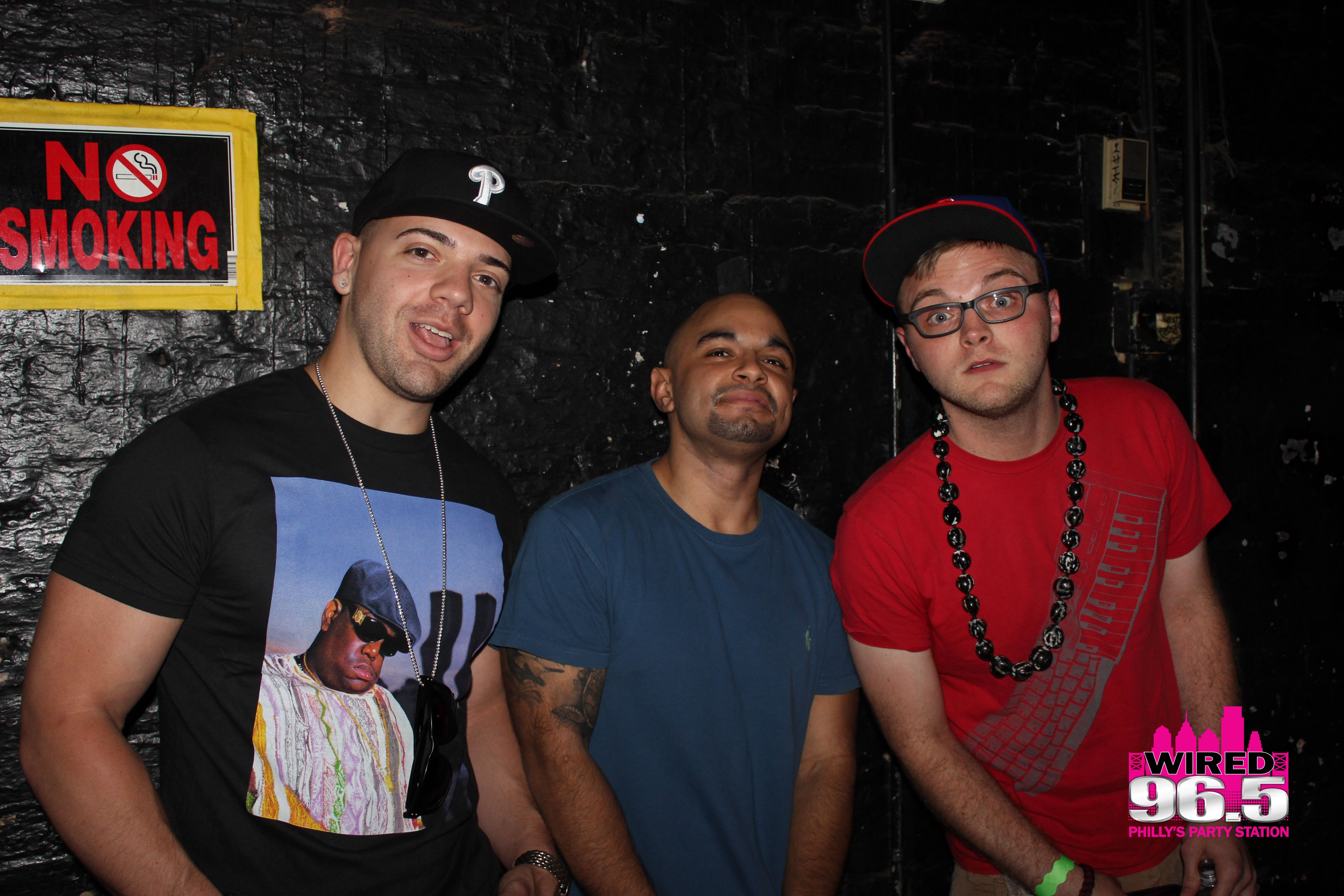 Buster, DJ Mijo and DJ Yonny - Wired 96.5 96 Cent Show | Wired\'s 96 ...