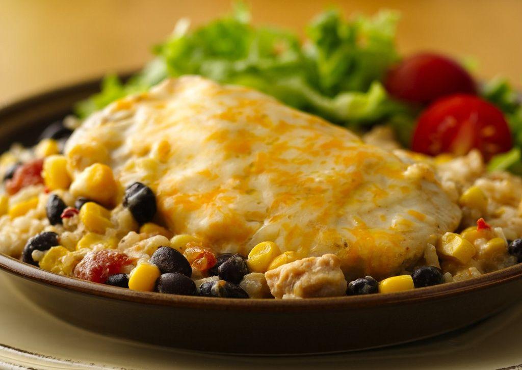 Cheesy chicken and rice casserole recipe recipes