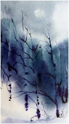 Add Interesting Effects To Your Watercolor Paintings