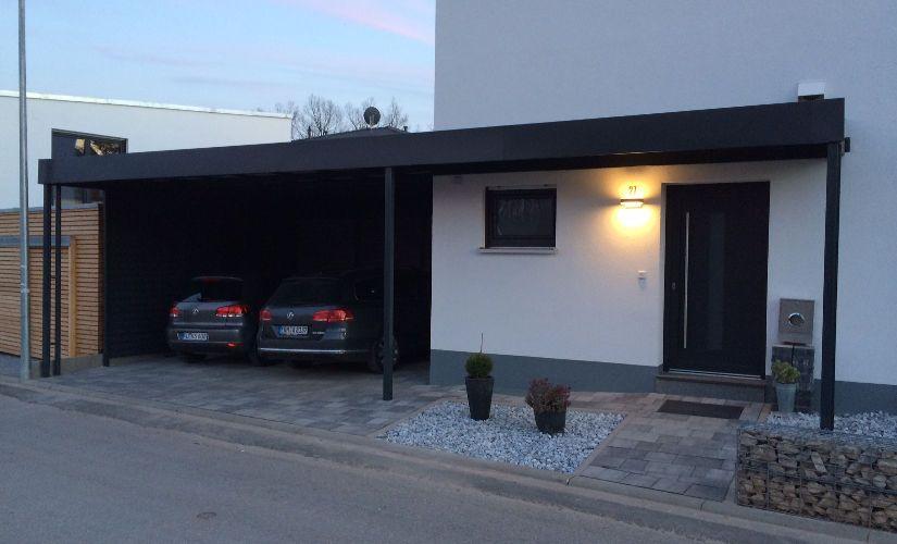 Carportmaster Stahlcarports Vom Spezialisten Der Branche Carport Uberdachung Hauseingang Moderne Turen