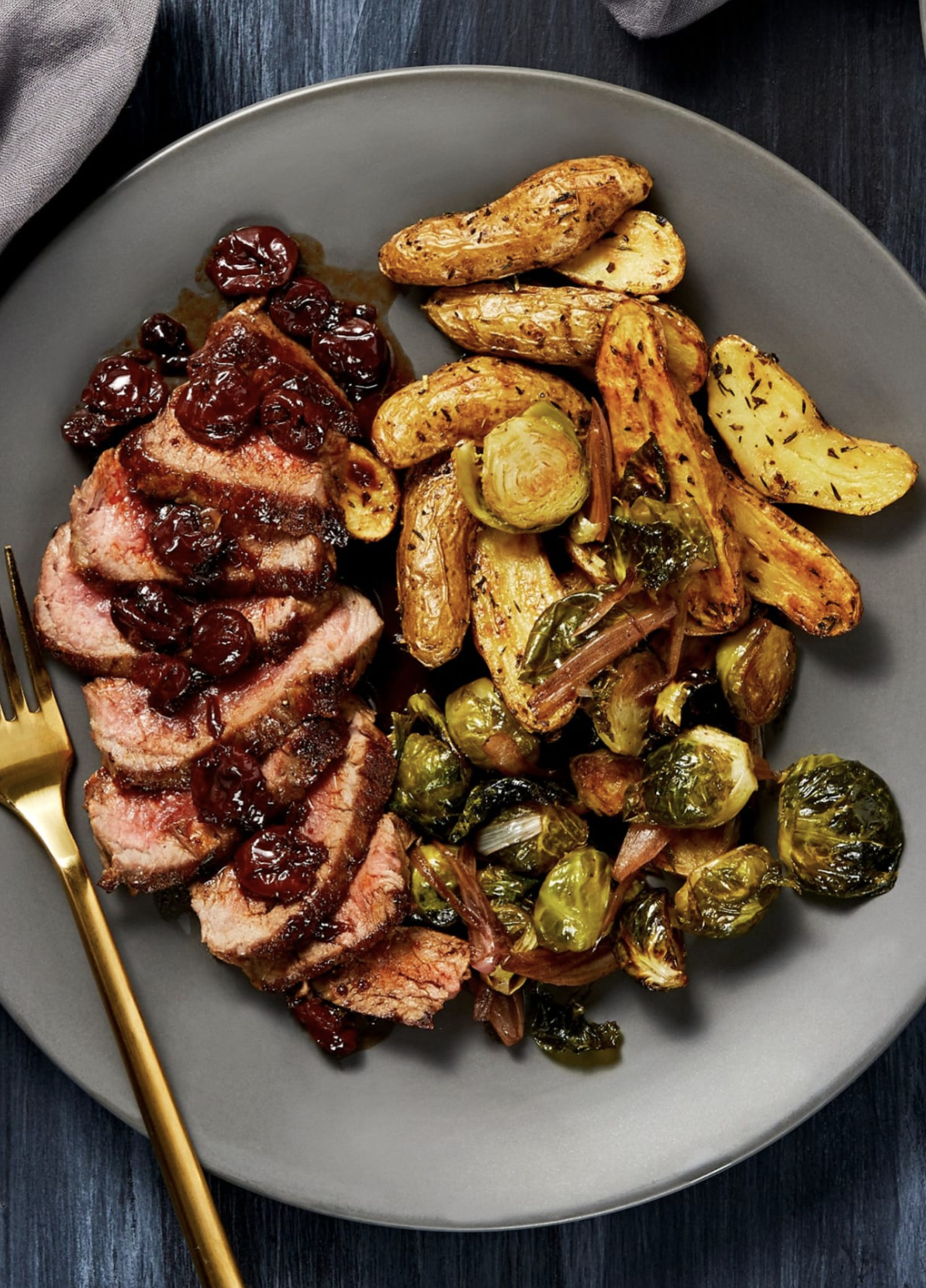 Cherry Balsamic Steak Recipe Hellofresh Recipe Hello Fresh Recipes Gourmet Dinner Recipes Healthy Gourmet