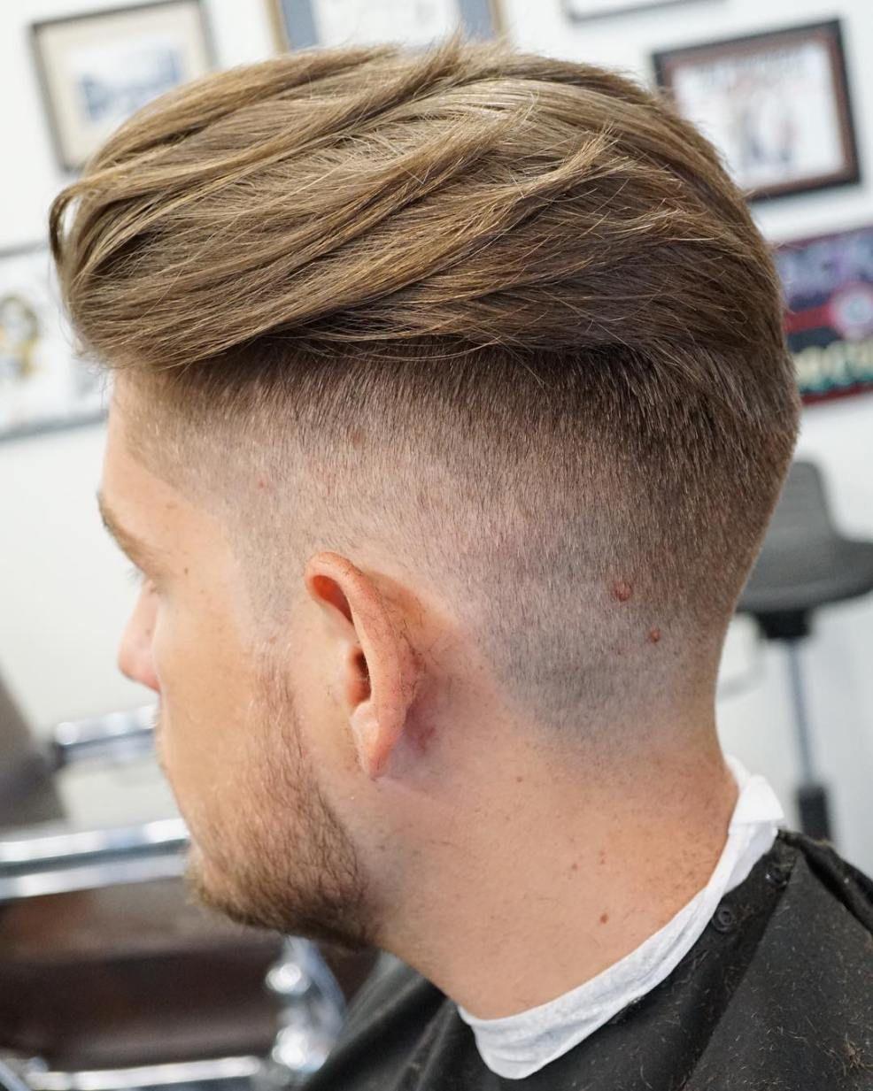 Fade haircut men  ultracool high fade haircuts for men  high fade haircut high