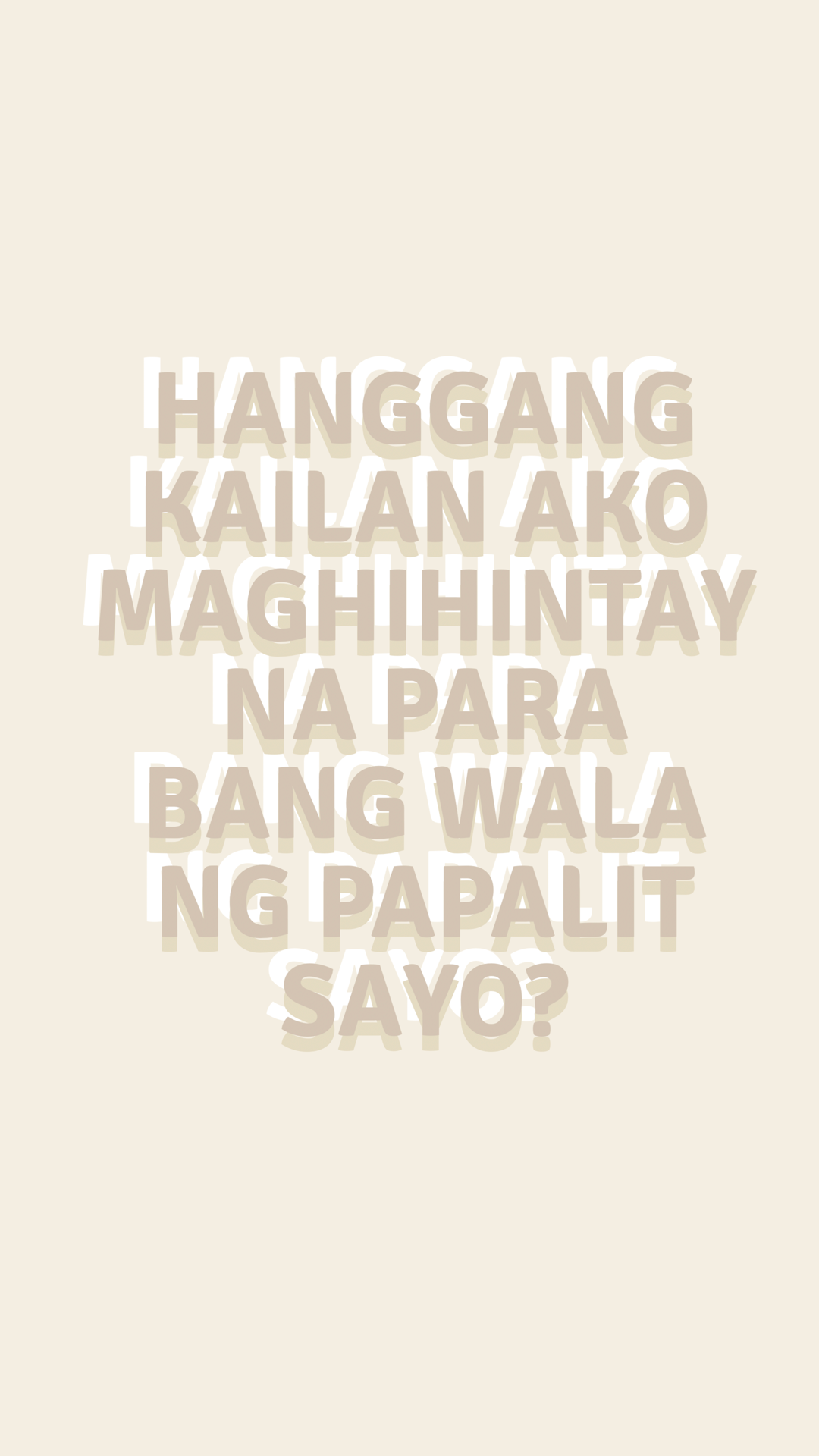 Aesthetic Love Quotes Tagalog