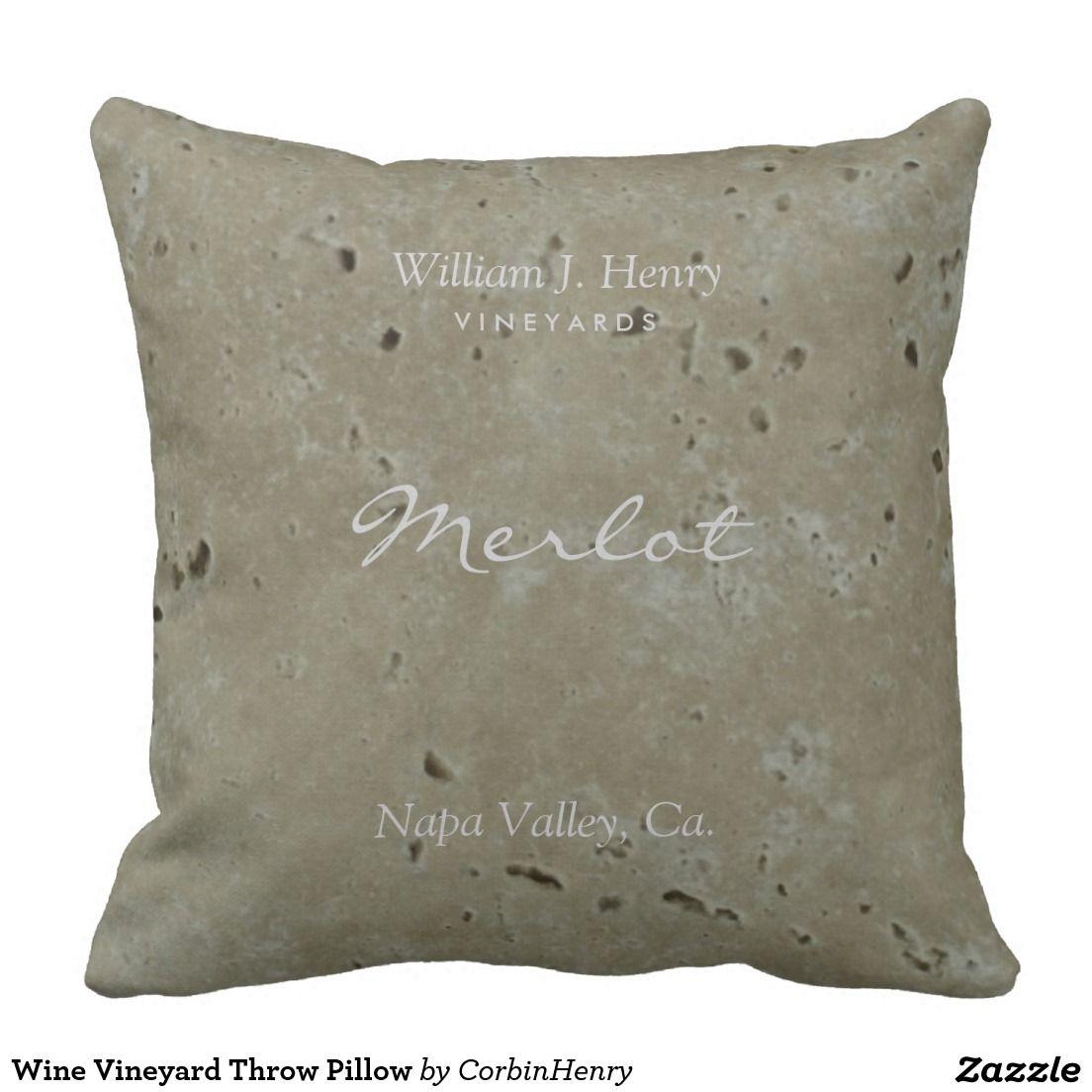 Wine Vineyard Throw Pillow Zazzle Com Wine Vineyards Throw Pillows Chardonnay Wine