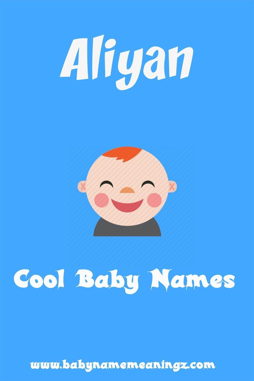 Aliyan name meaning & Arabic Boy unique names   Names with meaning, Arabic  baby boy names, Muslim boy names