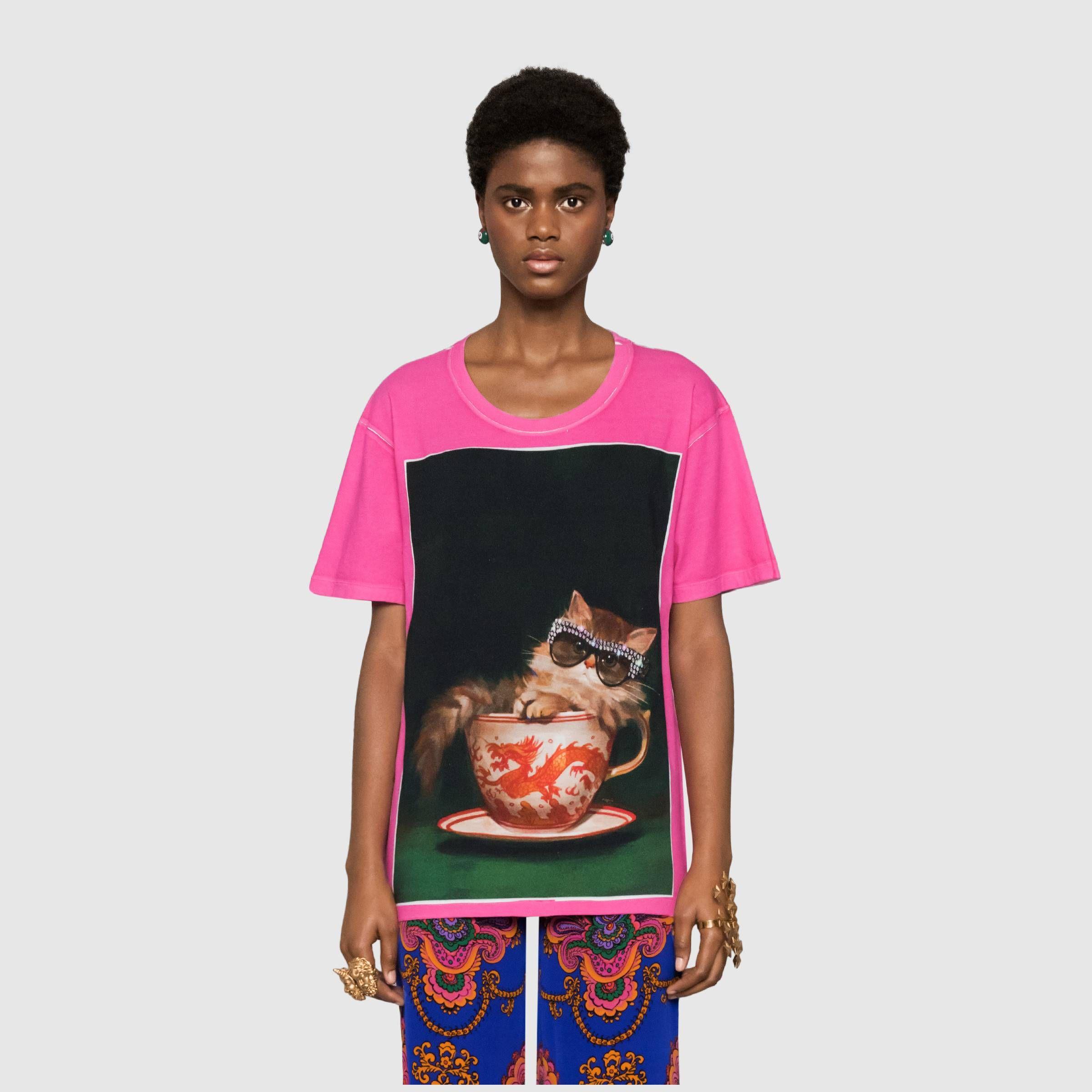 Gucci Ignasi Monreal Print T Shirt Popular Fashion Trending