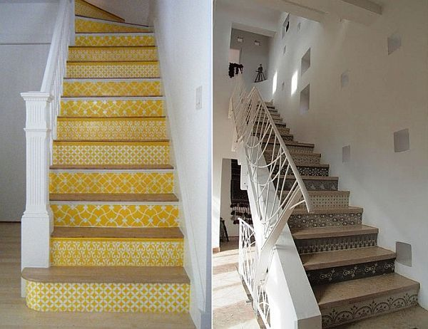 Good Creative Stair Risers For Your House Of Joy Images