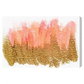 Pastel Gold Charm Canvas Print, Oliver Gal