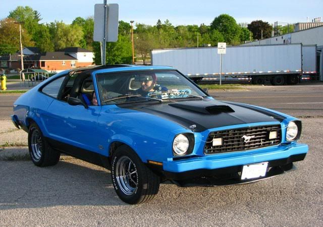 Blue Mustang Ii Ford Mustang Mustang Mustang Ii