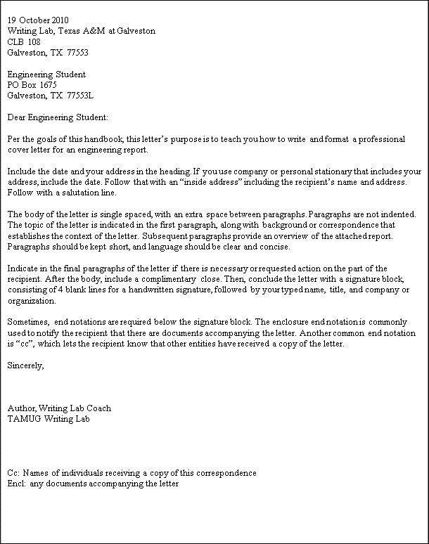 letter format purdue owl hvac cover letter sle hvac Others - business letters