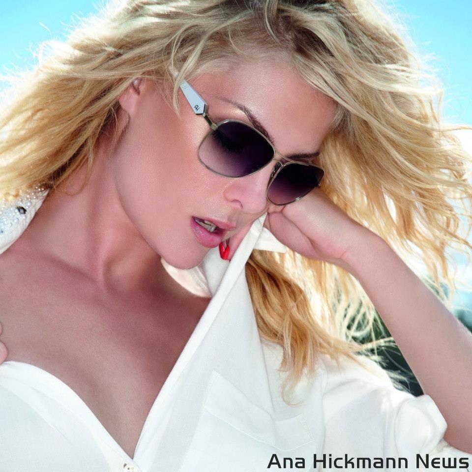 Ana Hickmann News  Ana Hickmann Eyewear Verão 2013 - Summer Gold ... be72b33c07