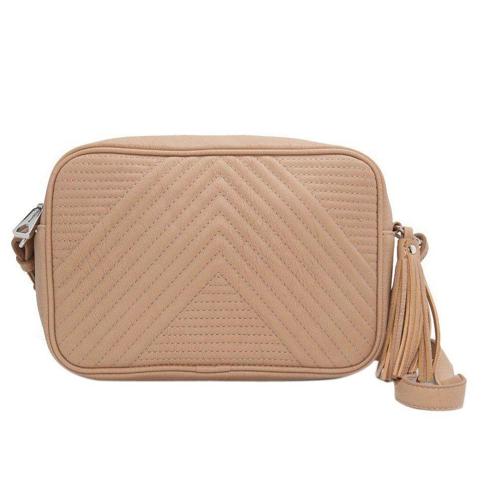 Women's Designer Spanish Brand Crossbody Leather Handbag