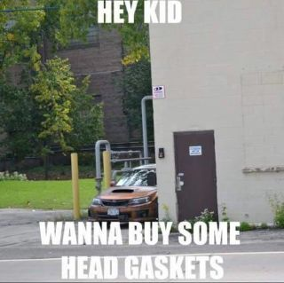 Image result for hey kid wanna buy some head gaskets