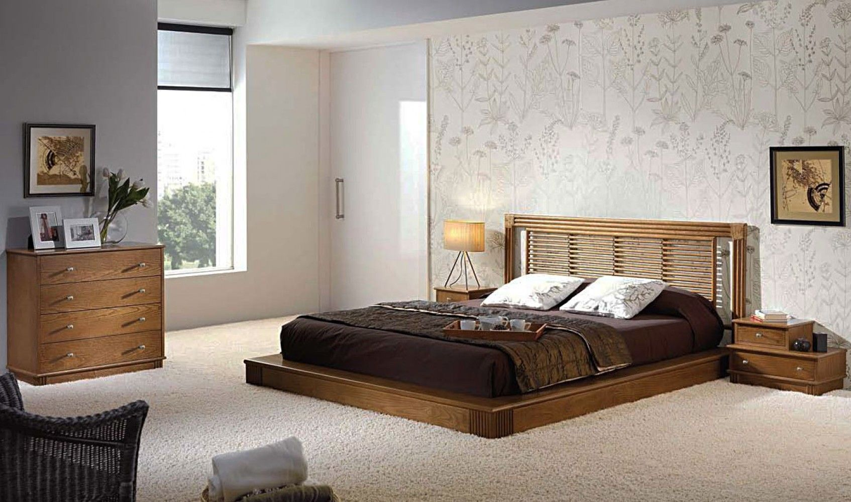 Modele Chambre A Coucher Beautiful De Moderne 2 Photos Concept
